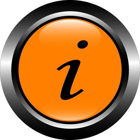 orange information Stock Vector - 12486049