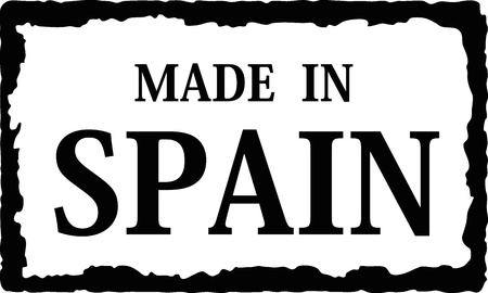made in: gemaakt in spanje