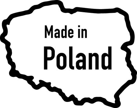 Made in Poland Vector