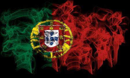 smoking flag of Portugal