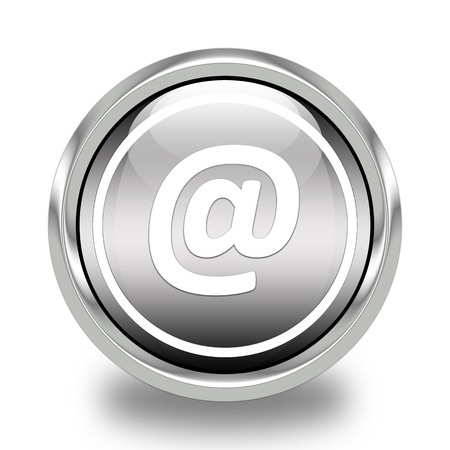 shinny: Glossy Email Icon
