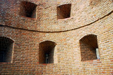 poznan: medieval wall in Poznan, Poland