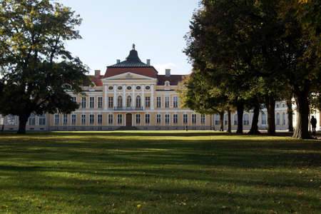 baroque palace in Rogalin, Poland