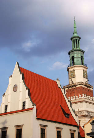 Tower of City Hall in Poznan