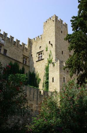 rhodes: citadel of Rhodes, Greece, City of Rhodes Editorial