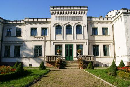 wielkopolska: palace, Poland, Wielkopolska Editorial