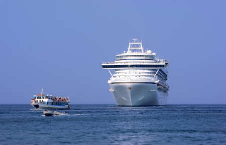 cruise liner, Greece,Rhodes photo