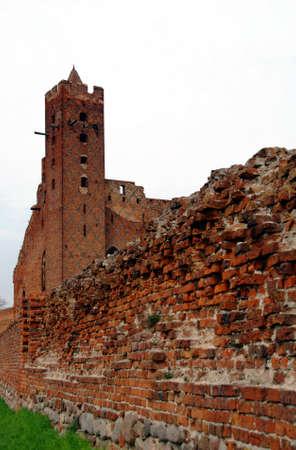 teutonic: gothic castle, Teutonic Knights,Poland
