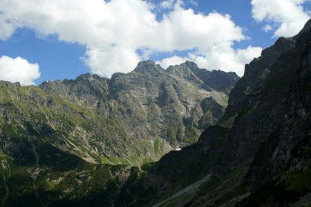 morskie: ridge ,Poland,Tatras, Morskie Oko