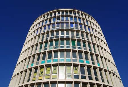 modernistic building in Poznan, Poland Stock Photo - 17952679