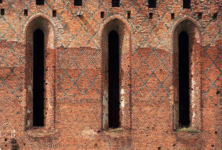 teutonic: gothic windows,Teutonic Knights,Poland