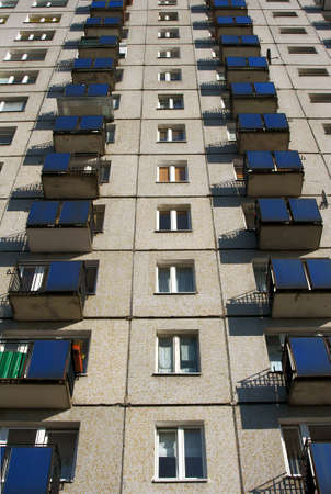 tower block:  tower block in Poznan, Poland