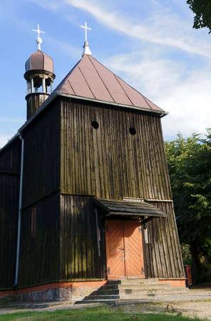 wielkopolska: Wooden church of St  Nicholas in Parzynow