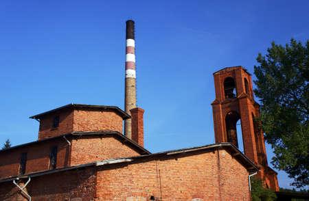 wielkopolska: The old, brick distillery in Wielkopolska
