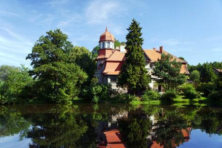 gora: Palace of the pond, Kobyla Gora, Poland