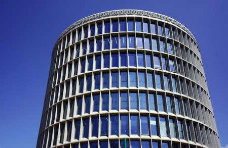 poznan: round modernistic building in Poznan, Poland
