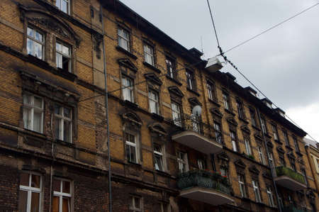 poznan: Facade of the building in Poznan