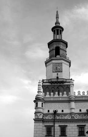 poznan: tower of City Hal in Poznan, Poland