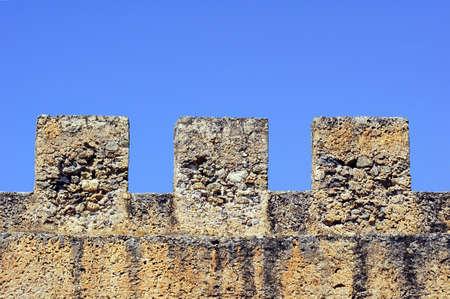 blanks: Blanks Venetian fortress walls on the island of Crete