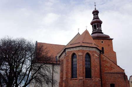 wielkopolska: Gothic parish church in Gniezno