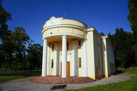 wielkopolska: The pavilion palace in Objezierze