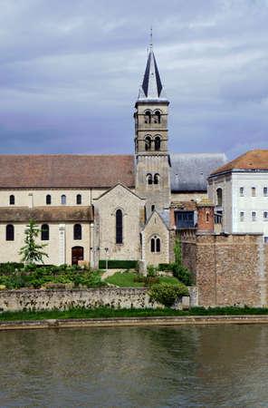 collegiate: Collegiate Church of Notre-Dame de Melun, France