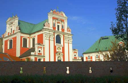 poznan: Baroque parish church in Poznan