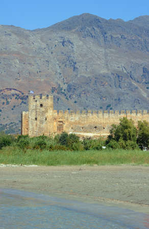 blanks: Venetian fortress walls with blanks on the island of Crete