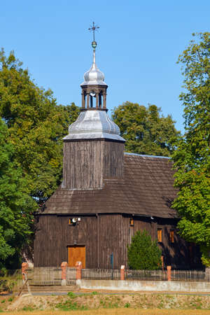 greater: Wooden parish church in Greater Poland
