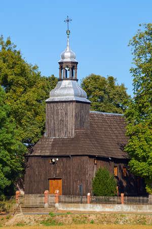 parish: Wooden parish church in Greater Poland