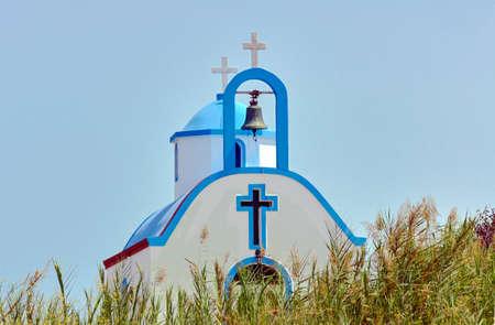 kos: Belfry Orthodox chapel on the island of Kos in Greece