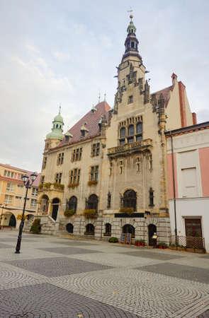 sicomoro: Municipio con la torre dell'orologio a Sycamore