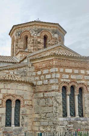 byzantine: byzantine church in Corfu, Greece