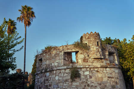 fortifications: Venetian fortifications, the medieval fortress city of Kos Stock Photo