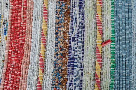 tapestry: Traditional hand-made tapestry on the Greek island of Lefkada