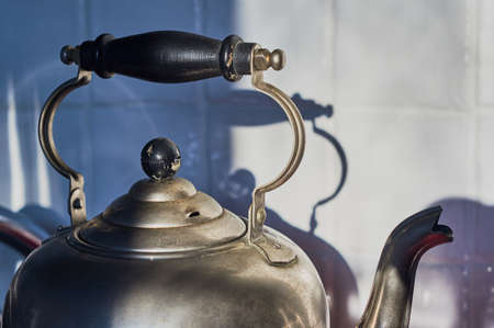 electric kettle: Metal Retro Electric Kettle