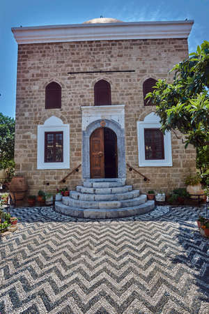 Medieval, Ottoman building in the city of Rhodes