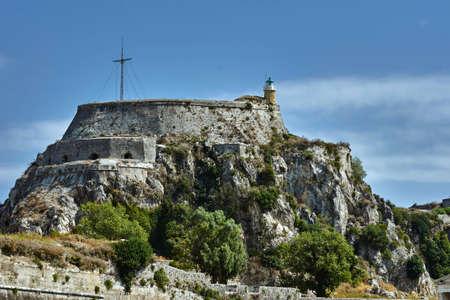 Palaio Frourio in city of Corfu, Greece
