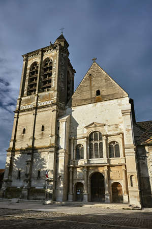 Medieval gothic church in Troyes in France