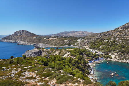Anthony Quinn Bay on the island of Rhodes, Greece