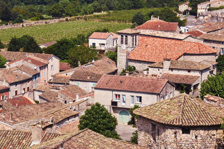 The medieval town of Vogue in France