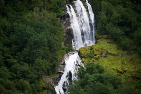 Waterfall in Norway photo