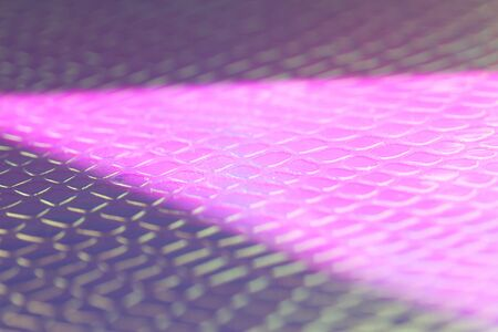 Blurred light rainbow holographic background with bright rays daylight.
