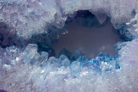 Real macro photo natural crystal background.