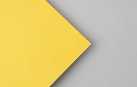 Bright yellow paper real texture background.