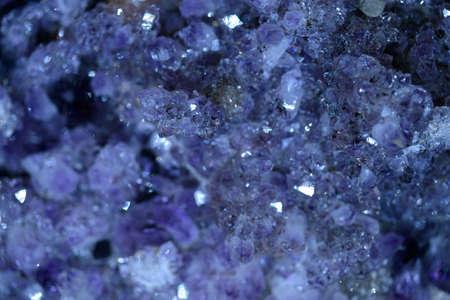 Close-up of a mineral stone. Banco de Imagens