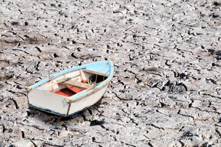 boat on the ground Banco de Imagens - 77292806
