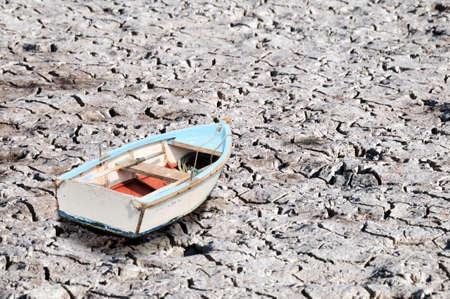boot op de grond