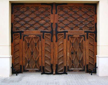 Old  wood gates Stock Photo - 6445341