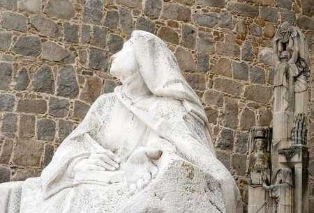 theologians: Monument of Saint Teresa of Avila, Avila,Spain